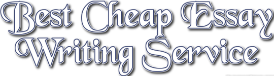 Cheap essays writing service