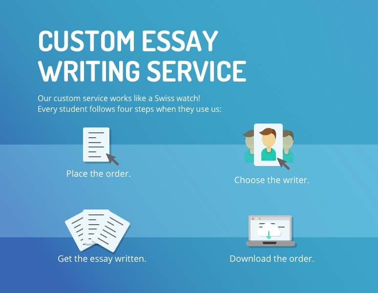 Custom Essays Written by the Best Writers